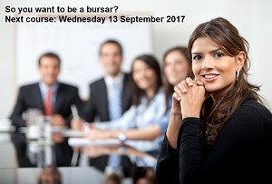 Booking Closing Soon for 'So You Want to be a Bursar?' Course